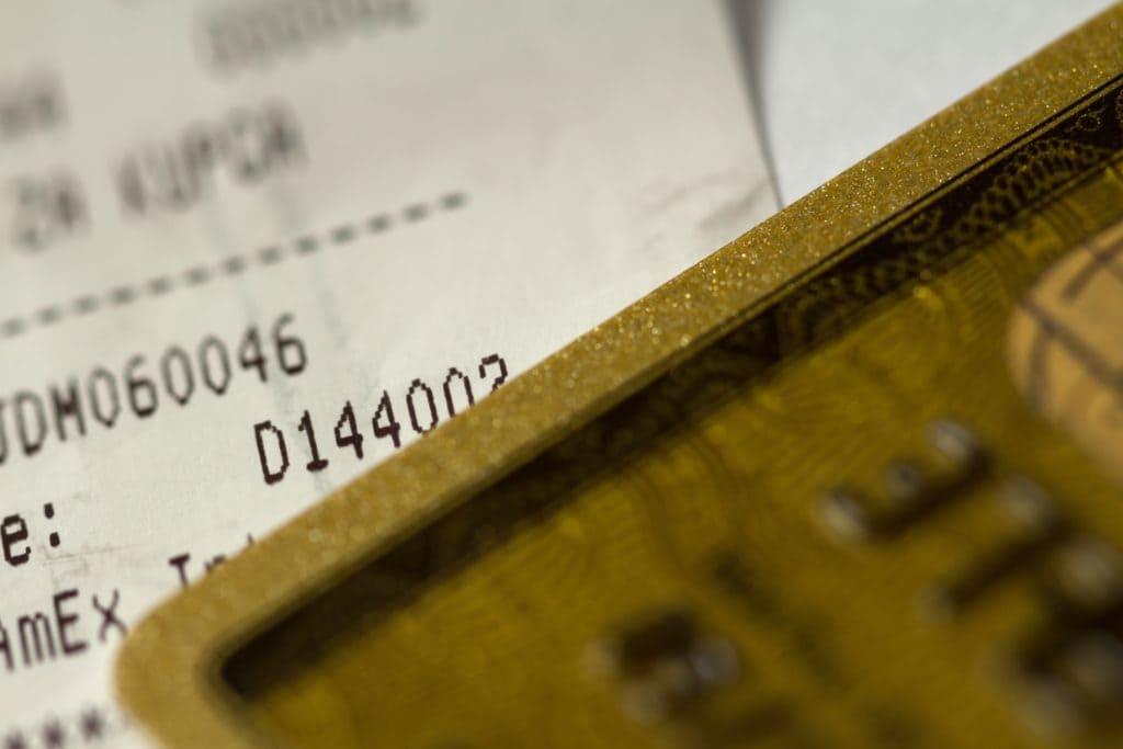 クレジットカードとお会計