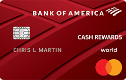 Bank of America Cash Reward