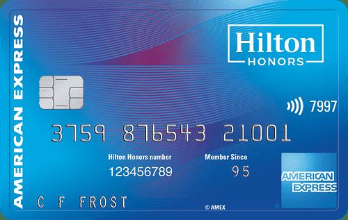 Hilton Honors Amex Surpass Card