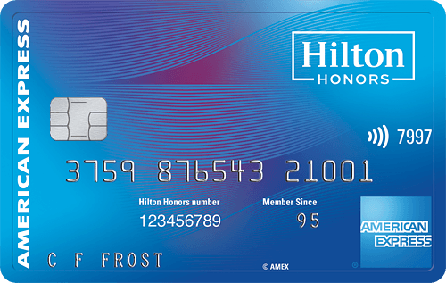 Hilton Honors Amex Surpass Card