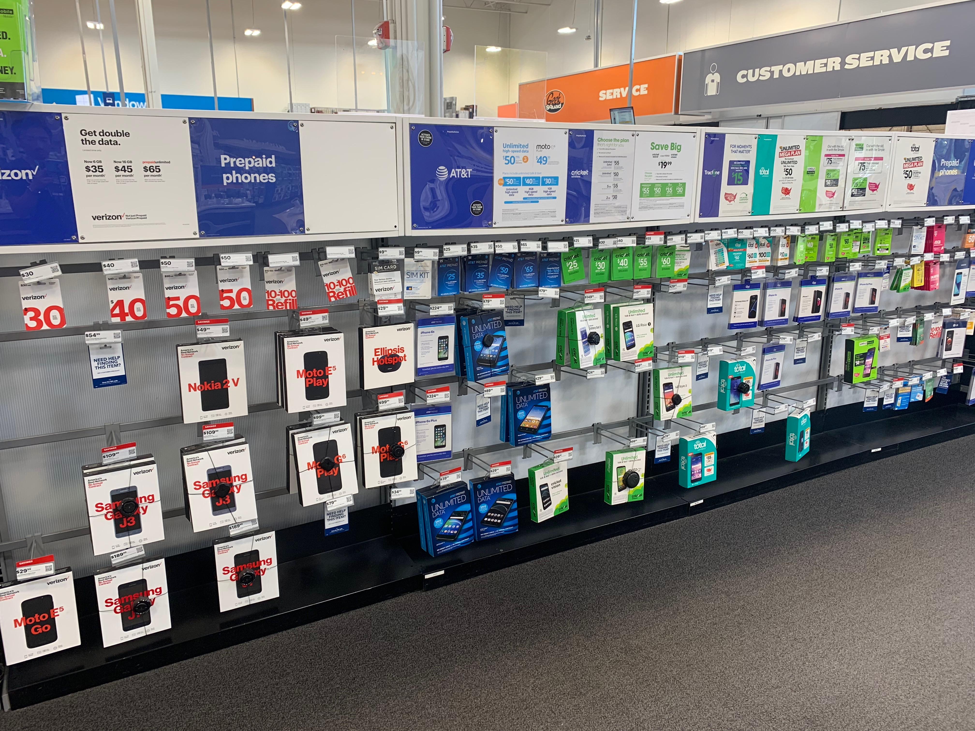アメリカでSIM・スマホを販売する家電量販店Best Buy