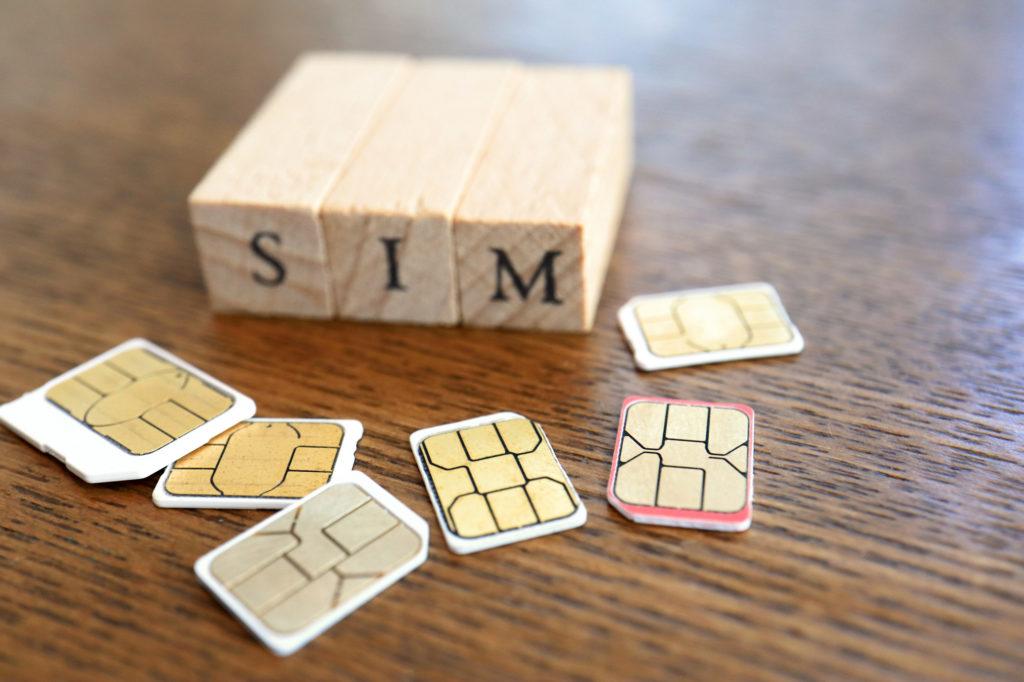 アメリカのSIMカード