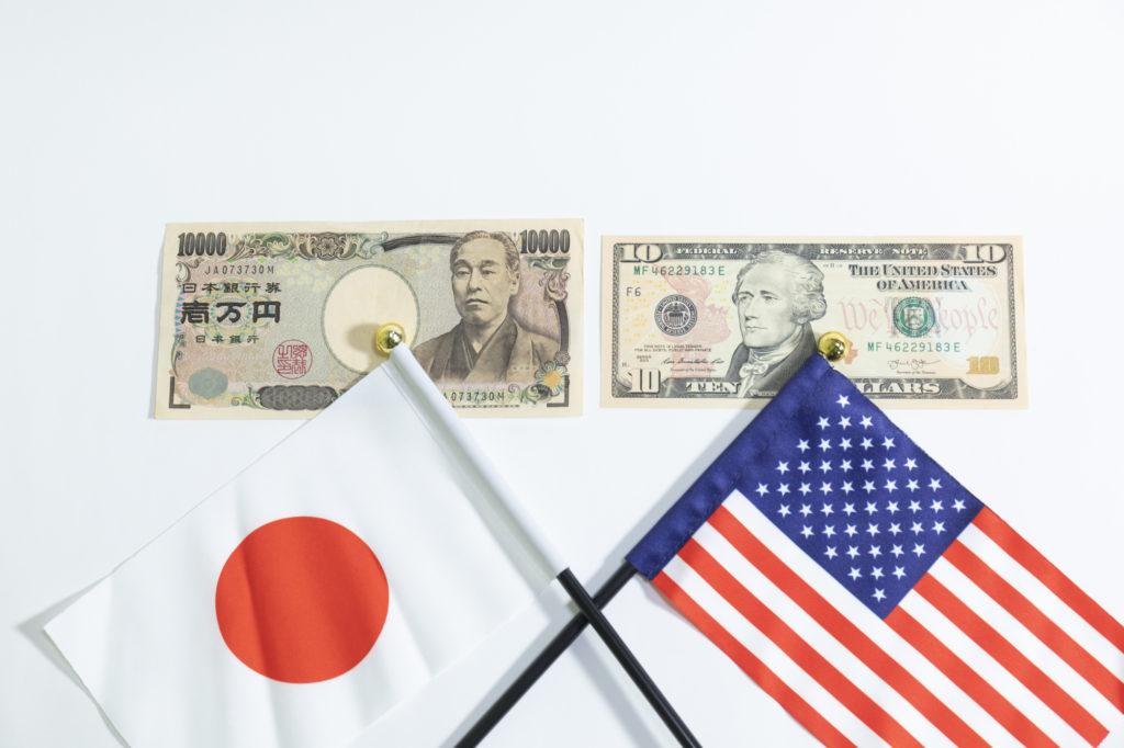 日本円とアメリカドル