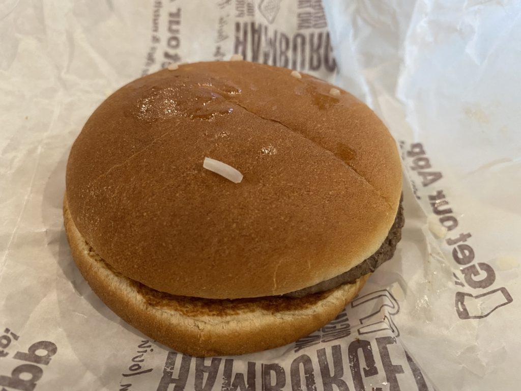 アメリカマクドナルドのハンバーガー