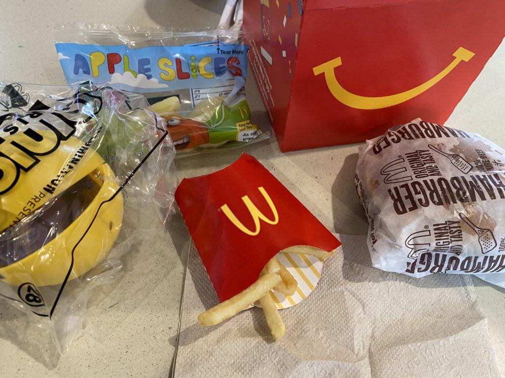 アメリカマクドナルドのハッピーセット