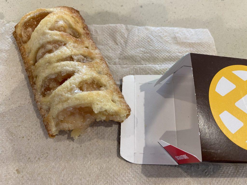 アメリカマクドナルドのアップルパイ