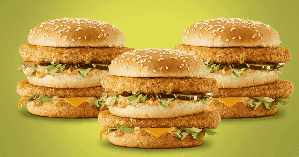 アメリカマクドナルドのビッグマックチキン