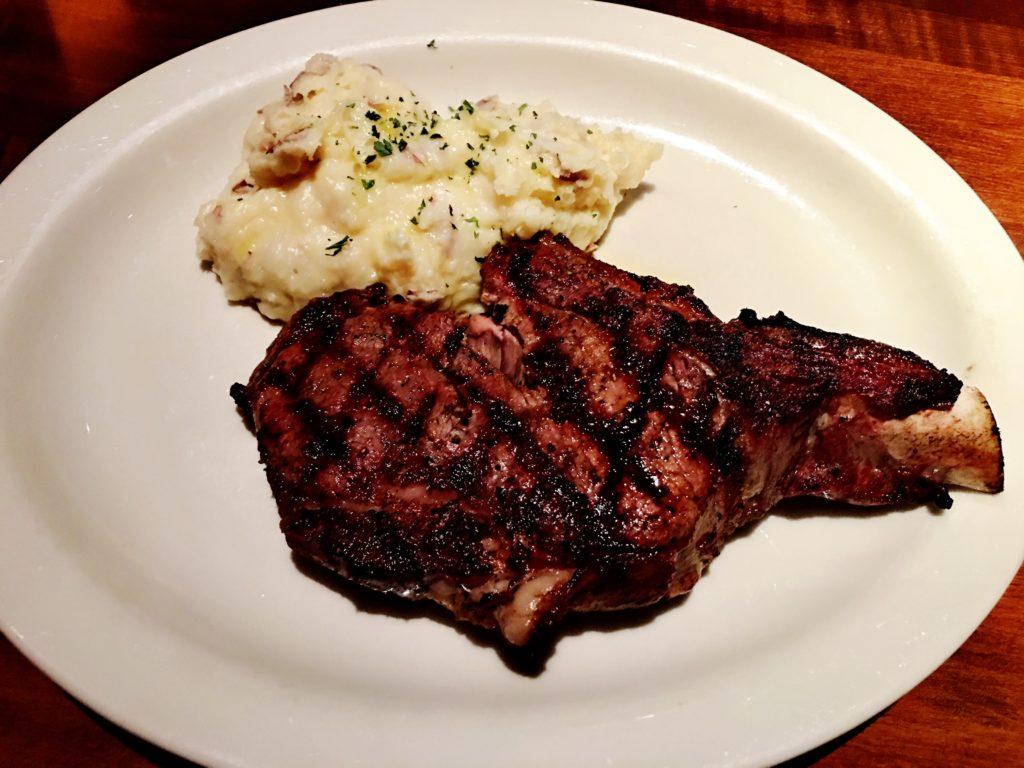 RingSide Steakhouseのステーキ