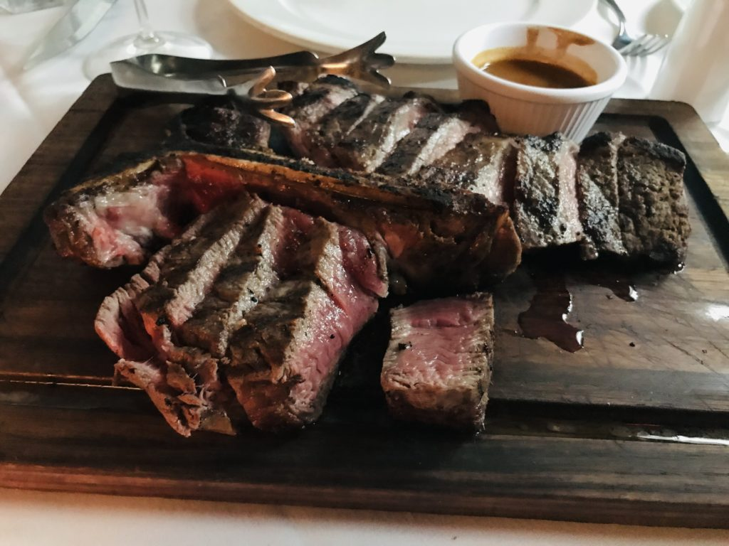 Ruth's Chris Steak Houseのステーキ